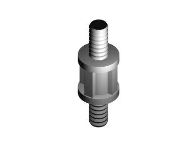 NYMM Distanziale in Nylon Maschio/Maschio per circuiti stampati