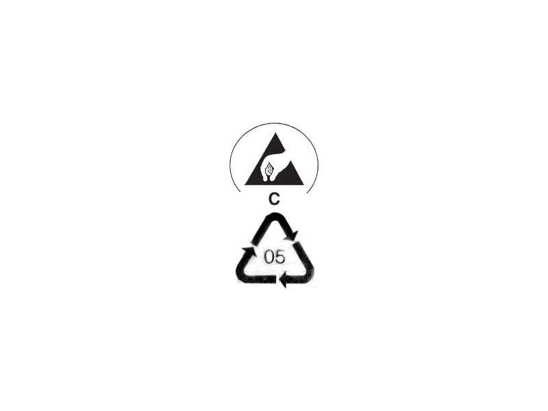 Simboli cestino ESD