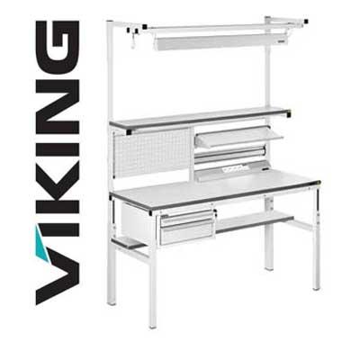 Banchi da lavoro per elettronica Viking