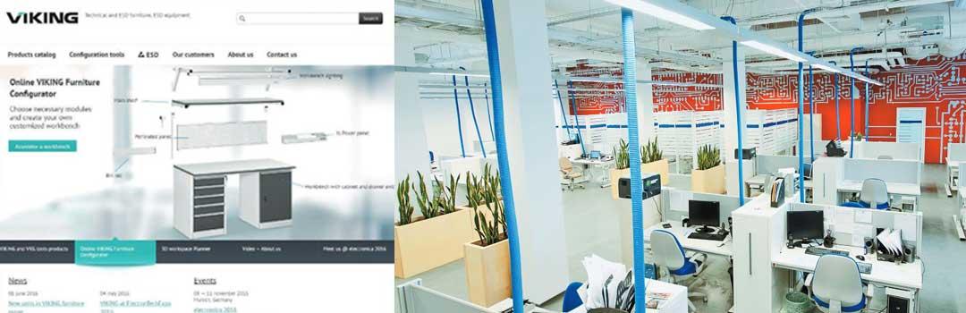 Banchi da lavoro per elettronica Viking: configuratore online