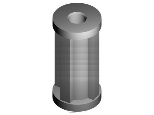 Distanziali in nylon 66 per circuiti stampati serie NY FF