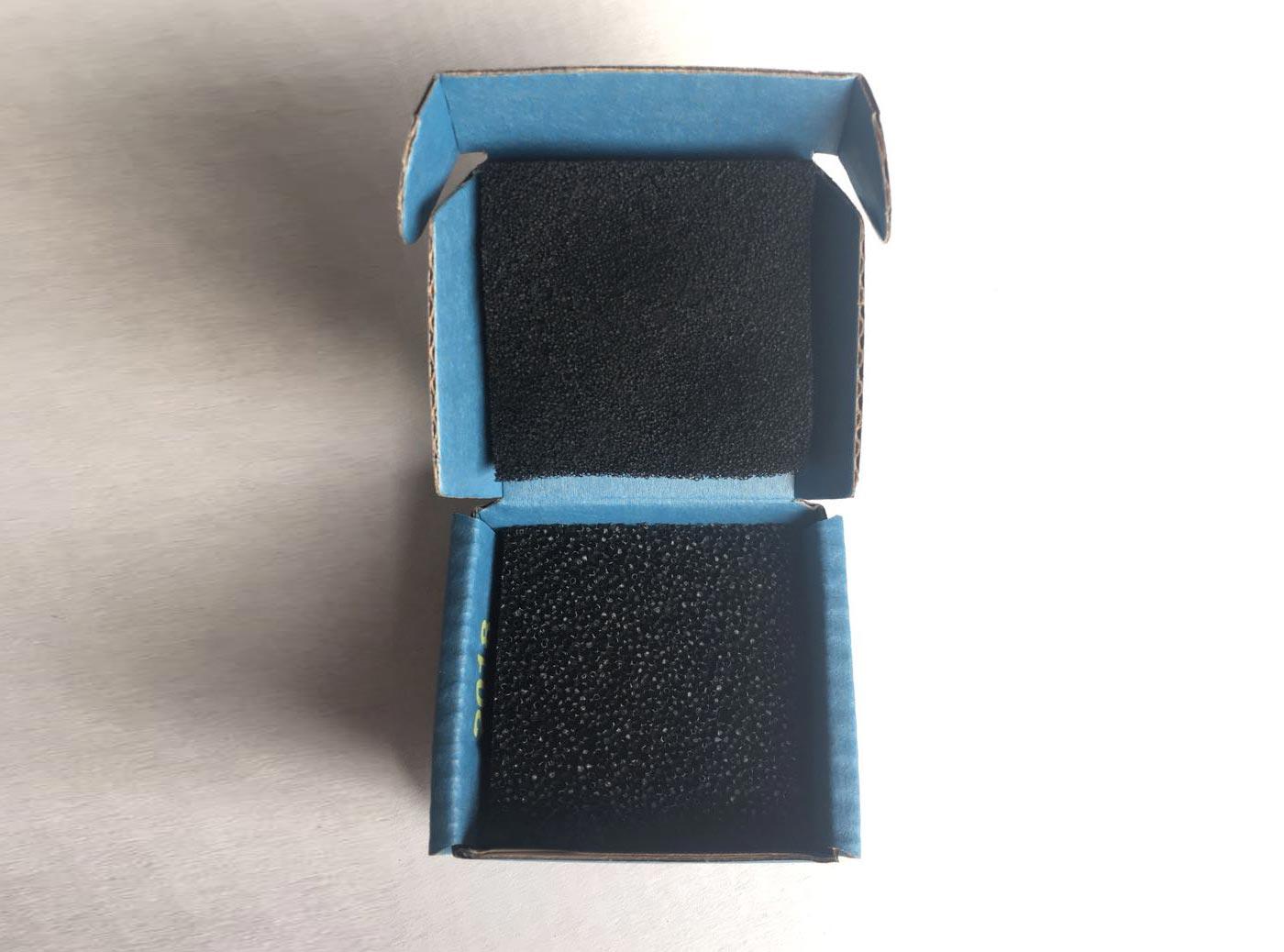 Anti-Statc Box for PCBs | Hans Kolb TVS-01/02 ESD Cardboard Box with Conductive Foam