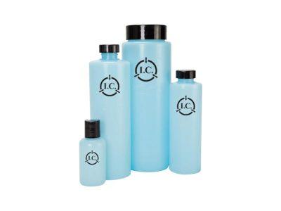 Flacone bottiglia ESD rotonda (4 formati)