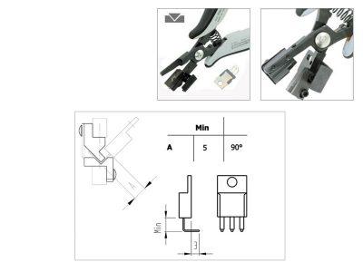 PN5040-90D Piergiacomi Utensile speciale ESD per preformatura 90°