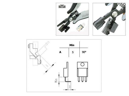 Piergiacomi PN5040/90D Utensile per taglio e Preformatura ESD
