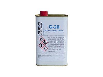 G-20 Due-Ci Electronic - Puliscicontatti secco in latta (1L)