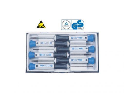 Set 6 cacciaviti ESD per elettronica serie A1413/6