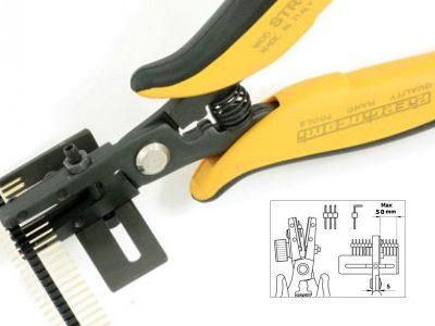 STR 50 Piergiacomi utensile speciale per il tagliodei PIN STRIP