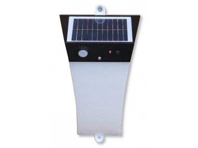 Lampada solare a LED - Applique da esterni Techly