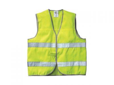Gilet di sicurezza alta visibilità - Colore Giallo