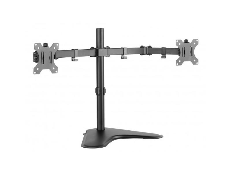 Doppio supporto da tavolo per 2 monitor 13-32 pollici - ICA-LCD 2524