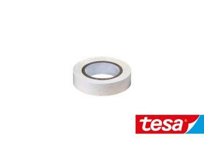 Nastro isolante Tesa Bianco PVC autoestinguente (2 formati, Cf 10pz)