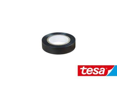 Nastro isolante Tesa Nero in PVC autoestinguente (2 formati, Cf 10pz)