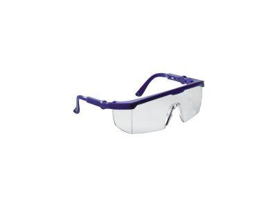 Occhiali di protezione in PC antigraffio con montatura