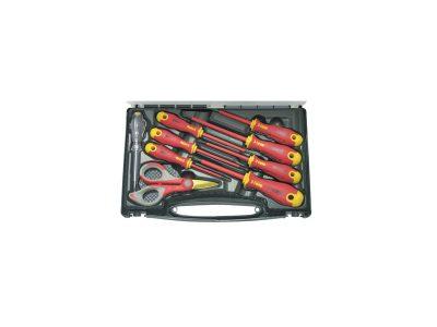 Set utensili per elettricista Felo (7 giraviti 1 cercafase 1 forbice)