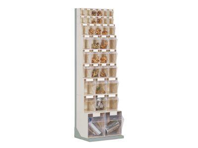 STTE37 Scaffale portaminuteria con 37 cassetti serie Stala Top