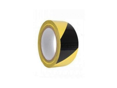 Yellow and Black Floor-marking Tape for EPA Areas (50mmx33m)