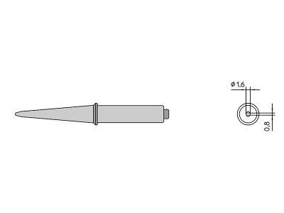 CT5C8 Punta saldante Weller a cacciavite 425°C | 4CT5C8-1