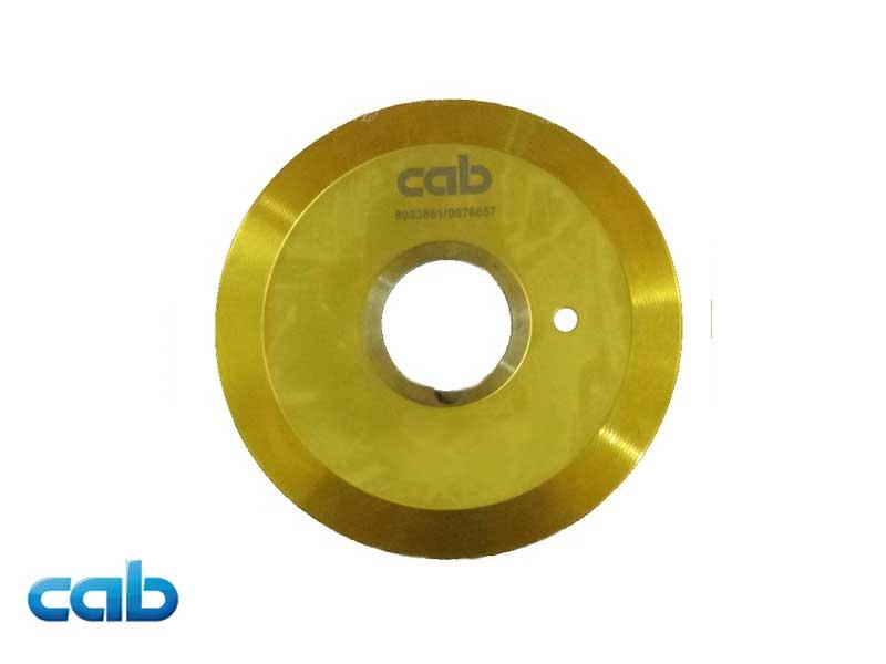 Lama inferiore in TiN per separatore di schede MAESTRO 2/2M - Codice Cab 8933661