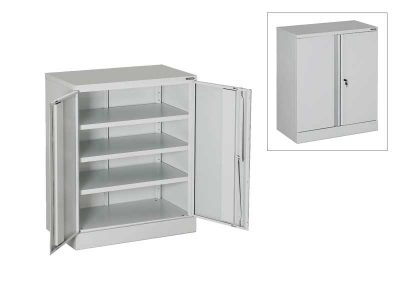 ESD small Filing Cabinet with 3 shelves and central lock