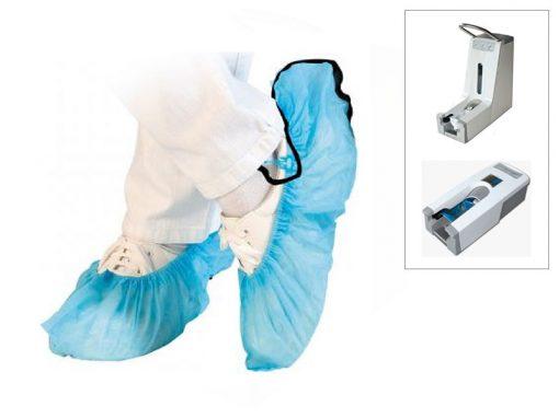 Copriscarpe antistatici ESD per dispenser (100pz)