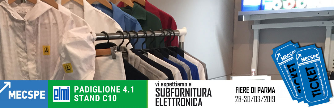 El.Mi a MECSPE 2019 | Stand C10 Padiglione 4.1 Settore: Subfornitura elettronica