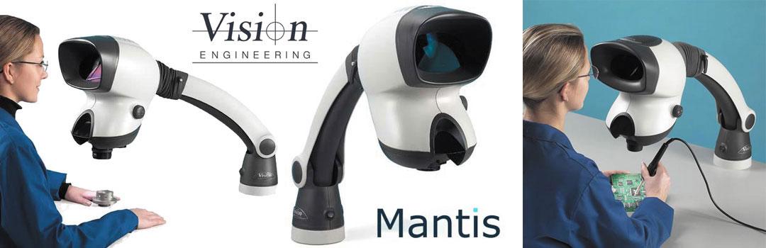 Microscopio stereoscopico senza oculari Mantis | Vision Engineering