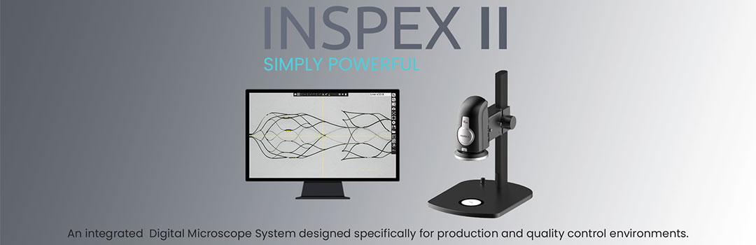 Microscopio digitale professionale con misurazioni Inspex II | Ash Technologies