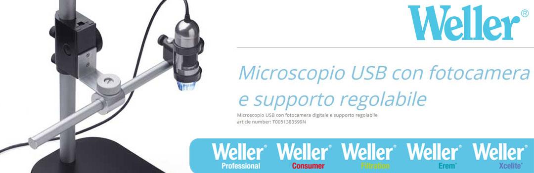 Microscopio USB digitale T0051383599 | Weller