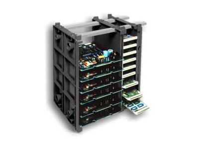 Rack portaschede ESD componibile EM Frame