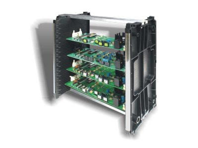 Rack portaschede ESD componibile EM Frame Mini (44 guide)