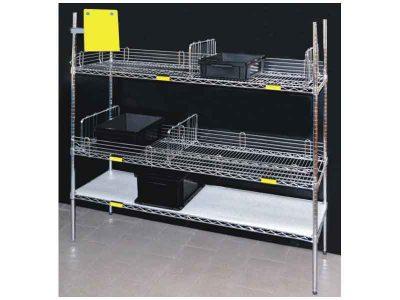 Scaffalature componibili ESD in acciaio