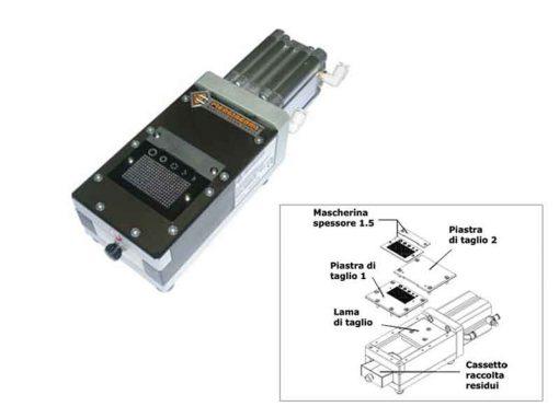 MMP10 Troncatrice a pedale per componenti sfusi