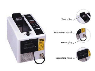 Dispensatore automatico di nastro adesivo