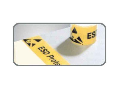 Nastro adesivo calpestabile per delimitazione aree EPA (75mmx33m)