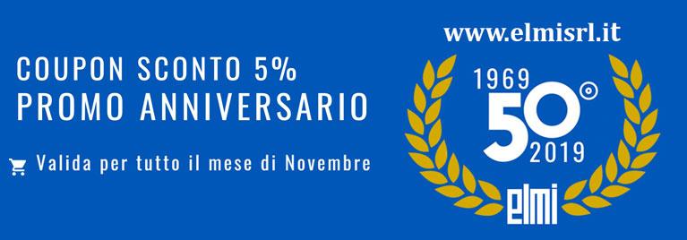 Promozione 50° Anniversario El.Mi | Novembre 2019