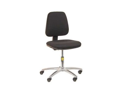 ESD Chair Mod. HDNEW120, 120kg Load capacity, Black