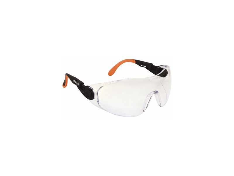 Safety Goggles with Single Spherical Lens