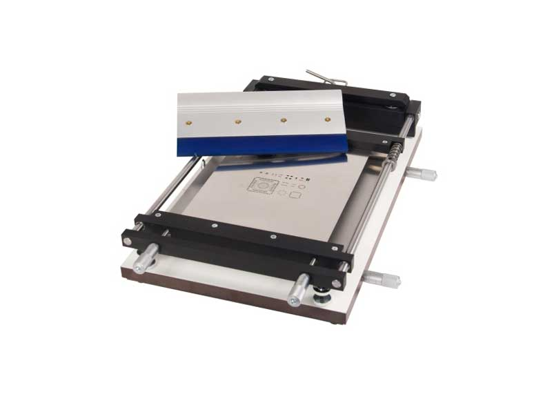 Serigrafica manuale SMD con piano regolabile (PCB max. 255x355mm) | EM360 Stencil printer