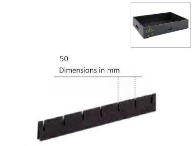 Divisorio per scatole antistatiche Hans Kolb modello MB (lato corto)
