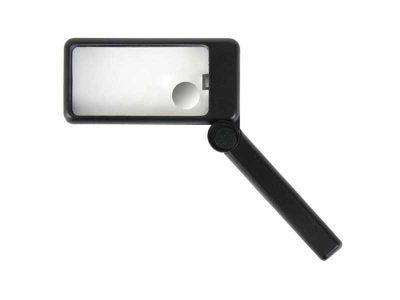 Lente bifocale pieghevole con luce 1.5/2.5x (2/6di)