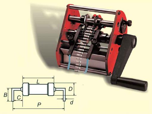 Superform/A-LC - Preformatrice per componenti assiali