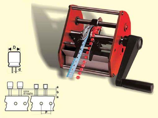 Superform/R-LC - Troncatrice per componenti elettronici radiali nastrati