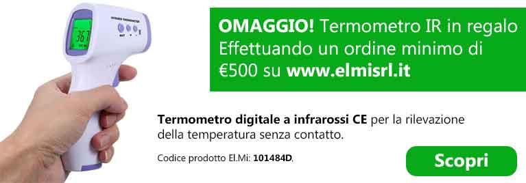 Termometro IR CE in omaggio PROMO