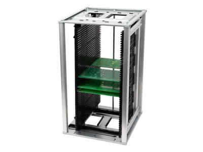 Rack portaschede regolabile ESD 80°C (3 formati)