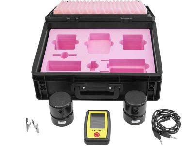 RM 1000 Tester Kit ESD con probe da 2.27kg per la misurazione della resistenza superficiale