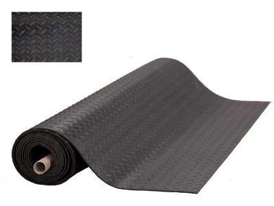 Tappeto da pavimento ESD conduttivo Nero Heavy Duty (1.2x10m, sp. 4mm)