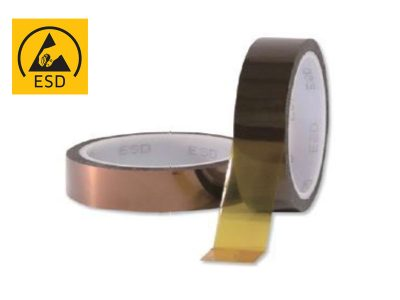 Kapton® antistatico ESD - Nastri adesivi da 6/25mm x 33m