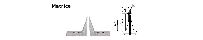 Depannelllizzatore HEKTOR 2 Cab | Specifiche della matrice