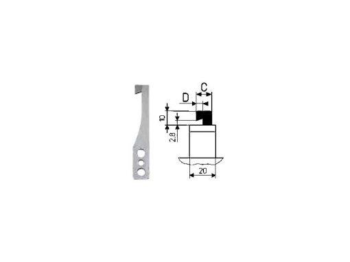 Lama a L per HEKTOR 2 CAB (1.5-3.0mm)